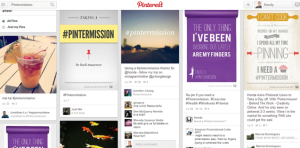 Social IMC  Engagement Marketing Honda CR-V Pintermission PInterest